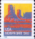 [Monument Valley - Nonprofit Coil Stamps (5 cents), Typ CJZ]