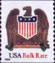 [Eagle and Shield - Bulk Rate Coil Stamp, Self-adhesive (10 cents), Typ CKC]