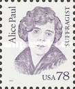 [Great Americans - Alice Paul, Typ CKM]