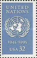 [The 50th Anniversary of United Nations, Typ CLM]