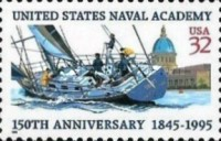 [The 150th Anniversary of U.S.Naval Academy, Typ COK]