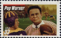[American Football - Legendary Football Coaches - With Red Bar above Coach's Name, type CVB1]