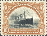 [Pan-American Exposition Issue, type CX]