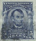 [Abraham Lincoln - Imperforated, type DC1]