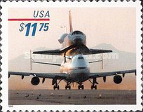 [Express Mail - Space Shuttle