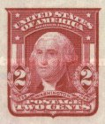 [George Washington - Imperforated, type DM6]