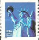 [Statue of Liberty - Self-Adhesive Coil Stamp (34 cents), Typ DNQ1]