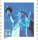 [Statue of Liberty - Self-Adhesive Coil Stamp, Typ DNQ5]