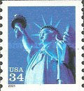[Statue of Liberty - Flourescent Coil Stamp, Typ DNQ6]