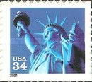 [Statue of Liberty - Self-Adhesive, Typ DNQ7]