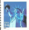 [Statue of Liberty - Self-Adhesive, Typ DNQ8]