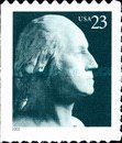 [George Washington, 1732-1799 - Self-Adhesive - Singles from booklet, Typ DOV5]