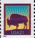 [American Bison - Self-Adhesive, Typ DOW1]