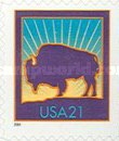 [American Bison - Self-Adhesive, Typ DOW3]