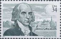 [The 250th Anniversary of the Birth of James Madison, 1751-1836, Typ DQX]
