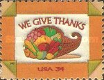 [Thanksgiving Day - Self-Adhesive, Typ DQY]