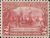 [Jamestown Exposition Issue, type DT]