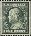 [Benjamin Franklin & George Washington - Coil Stamps, type DV7]