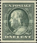 [Benjamin Franklin & George Washington - Coil Stamps, type DV8]