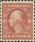 [George Washington - Error in Plate of 2 Cents, type DW103]