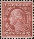 [George Washington - Coil Waste. Size: 19½-20 x 22mm, Typ DW153]