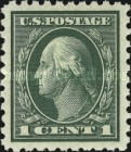 [George Washington - Different Perforation, Typ DW59]