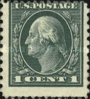 [George Washington - Different Perforation, Typ DW60]