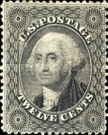 [George Washington, 1732-1799, type E1]