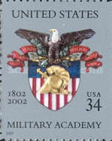 [The 200th Anniversary of the US Military Academy at West Point - Self-Adhesive, Typ EAI]