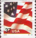 [U.S. Flag - Self-Adhesive Coil Stamp, Typ ECT10]