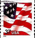 [U.S. Flag - Self-Adhesive Coil Stamp, Typ ECT14]