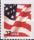 [U.S Flag - Booklet Stamps, Typ ECT17]