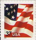 [U.S Flag - Booklet Stamps, Typ ECT18]