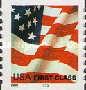 [U.S. Flag - First-Class Coil Stamps for Domestic Use (37 cents), Typ ECT2]
