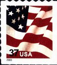 [U.S Flag - Self-Adhesive Booklet Stamps, Typ ECT21]