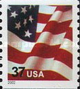 [U.S. Flag - Coil Stamp, Typ ECT8]