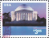 [Jefferson Memorial Priority Mail - Self-Adhesive, Typ EED1]