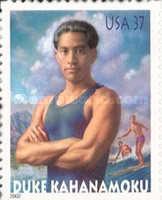 [Duke Kahanamoku - Father of International Surfing - Self-Adhesive, Typ EEO]