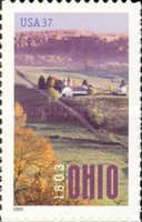 [The 200th Anniversary of Ohio Statehood - Self-Adhesive, type EIF]
