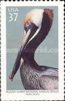 [The 100th Anniversary of Pelican Island National Wildlife Refuge - Brown Pelican - Self-Adhesive, Typ EIH]