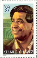 [The 10th Anniversary of the Death of Cesar E. Chavez - Self-Adhesive, Typ EIY]