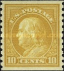 [Benjamin Franklin - Coil Stamp. Rotary Print. Stamps are 23mm High, Typ EK52]