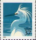 [Birds - Snowy Egret - Self-Adhesive Booklet Stamps, Typ EKR2]