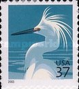 [Birds - Snowy Egret - Self-Adhesive Booklet Stamps, Typ EKR3]