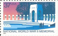 [National World War II Memorial - Self-Adhesive, Typ EMK]