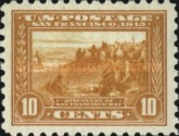 [Panama-Pacific Exposition Issue - Different Perforation, Typ EO2]