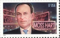 [The 100th Anniversary of the Birth of Moss Hart - Self-Adhesive, Typ EOB]