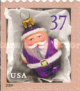 [Christmas - Santa Ornaments - Self-Adhesive Booklet Stamps, Typ EOG]