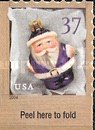 [Christmas - Santa Ornaments - Self-Adhesive Booklet Stamps, Typ EOG1]