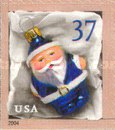 [Christmas - Santa Ornaments - Self-Adhesive Booklet Stamps, Typ EOI]